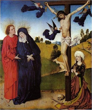Le maître de la vie de Marie. Crucifixion. Vers 1465. Munich.