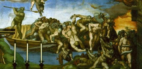 Last_Judgement_by_Michelangelo caron