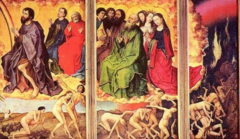 Rogier_van_der_Weyden-jugement-dernier3mlkjh les damnés